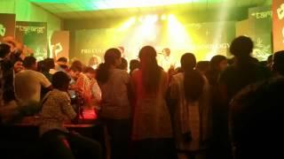 A R Rahman Medley Live By Nithin Raj & Shakthisree Gopalan @ P R S Engineering College