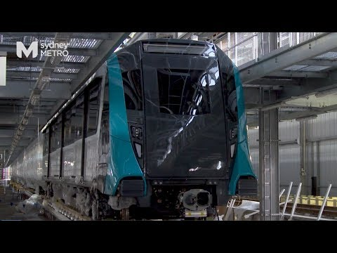 Sydney Metro: first train arrival, September 2017