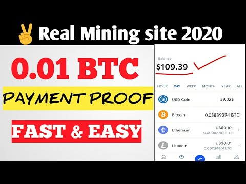 2 Real Free Bitcoin Cloud Mining Site 2020 Earn Daily $ Live Payment Proof ?