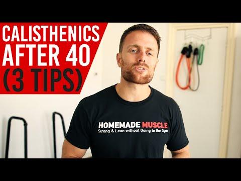 Bodyweight Exercise after 40 (Calisthenics)