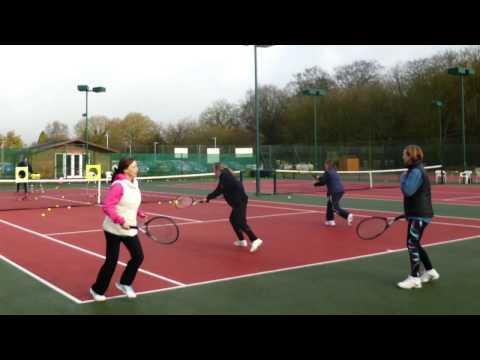 Prestwood Tennis Club /Adult Tennis Drills / Tennis group lessons/ Morning Tennis