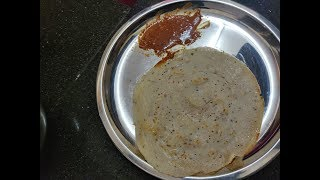 Quick Dosa recipe/ Maida Dosa/ Quick tiffin receipe