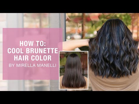 HOW TO: Cool Brunette Hair Color By Mirella Manelli | Kenra Color