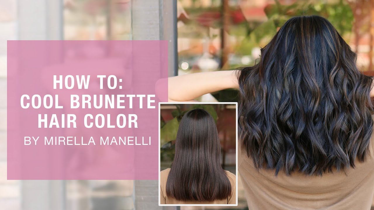 HOW TO: Cool brunette hair color by Mirella Manelli   Kenra Color