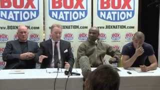 CHRIS EUBANK JR v BILLY JOE SAUNDERS (via SKYPE) - FULL & UNCUT PRESS CONFERENCE / BAD BLOOD