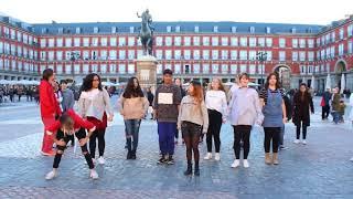 Public K-Pop Random Play Dance Challenge in Spain, Madrid (Description)