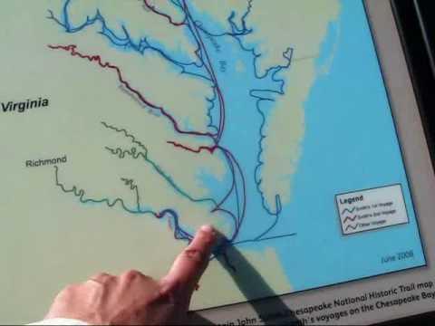 Travel Virginia: Ferries going across James River, from Jamestown Settlement