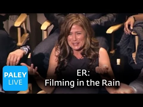 ER  Maura Tierney on Filming in the Rain Paley Center