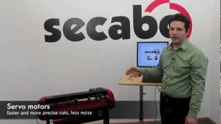 Secabo S60 vinyl cutter with servo drives - an introduction