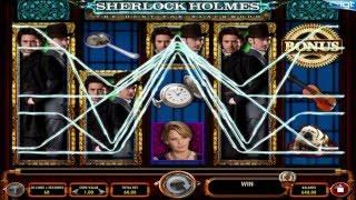 IGT -Sherlock Holmes: Hunt For Blackwood video slot - Bonus Big Win