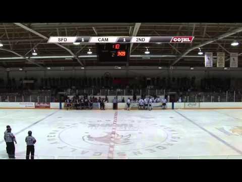 2013-14 GOJHL: Stratford Cullitons vs. Cambridge Winter Hawks (02/15/14)