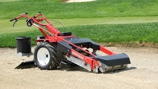 Golf Course Bunker Cleaner: the Barber SAND MAN 850
