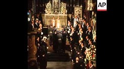 SYND 26-9-73 KING GUSTAV'S FUNERAL IN STOCKHOLM, SWEDEN