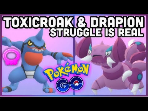 The Toxicroak & Drapion struggle in Pokemon GO | 1 Metagross vs Piloswine Raid no boost thumbnail