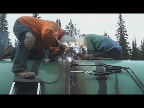 Pipeline Welding - 54 Inch Section Work