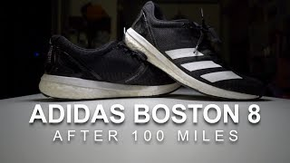adidas Boston 8 After 100 Miles