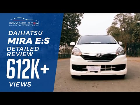 Daihatsu Mira e:S Detailed Review: Price, Specs & Features | PakWheels