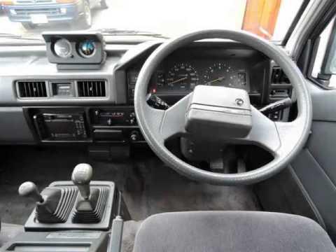 Vancouver Velocity Cars - BC - 1990 Mitsubishi Delica DISEL IMPORT TO USA 148 KM
