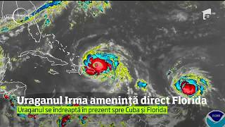Uraganul Irma continua sa devasteze insulele care ii stau in cale
