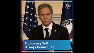 Diplomacy Will Always Come First