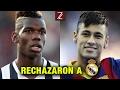 Los 5 Jugadores de Clase Mundial que rechazaron al Real Madrid | Zicrone21