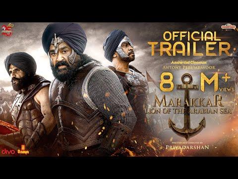 Marakkar Official Hindi Trailer | Mohanlal, Suniel Shetty, Arjun, Prabhu | Priyadarshan