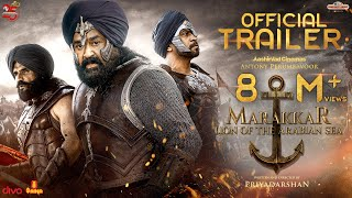 Marakkar Official Hindi Trailer | Mohanlal, Suniel Shetty, Arjun, Prabhu | Priyadarshan