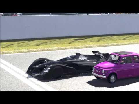Gran Turismo 5 - X2010 versus Fiat 500