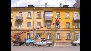 Кузнецк, май 2006, Ремонт фасадов(, 2015-02-24T09:48:32.000Z)