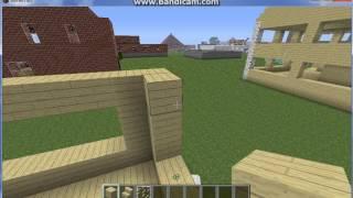 Minecraft-обычный дом