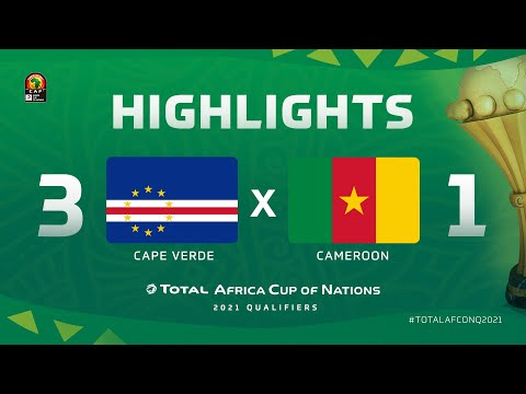 HIGHLIGHTS   #TotalAFCONQ2021   Round 5 - Group F: Cape Verde 3-1 Cameroon