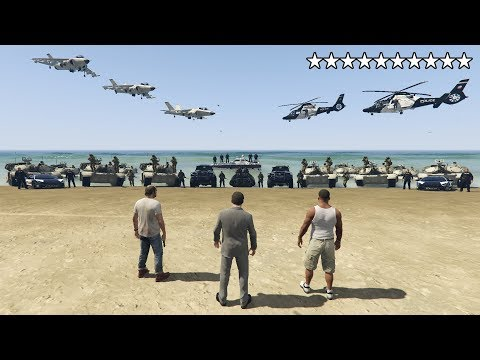 what happens if you get 10 stars in gta 5 epic cop battle escape and real prison