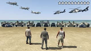 Download What Happens If You Get 10 Stars in GTA 5? (Epic Cop Battle, Escape and Real Prison) Mp3 and Videos
