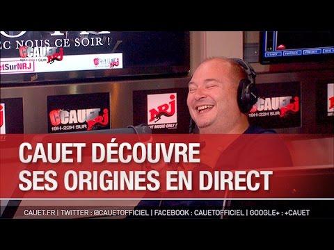 Cauet découvre ses origines en direct -...