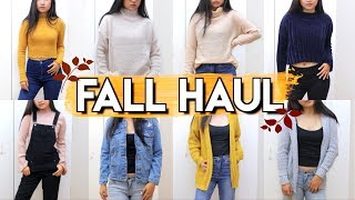 FALL TRY ON HAUL