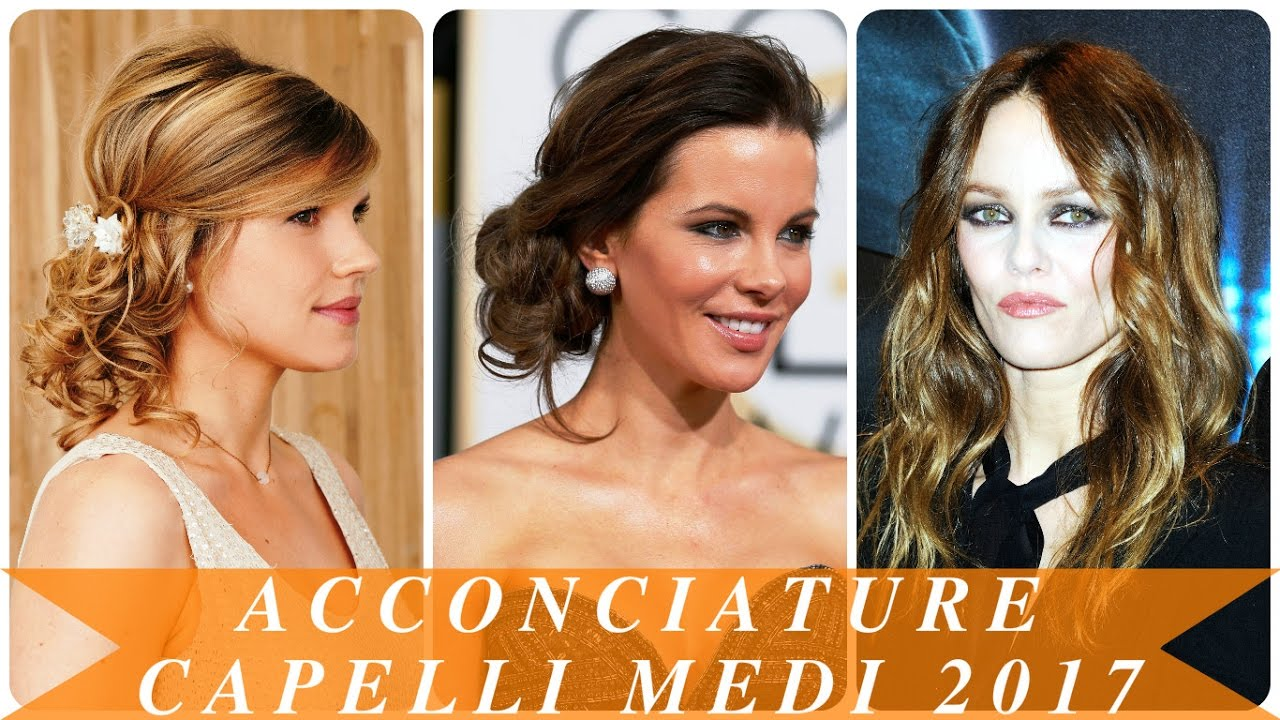 Préférence Acconciature capelli medi 2017 - YouTube HN43