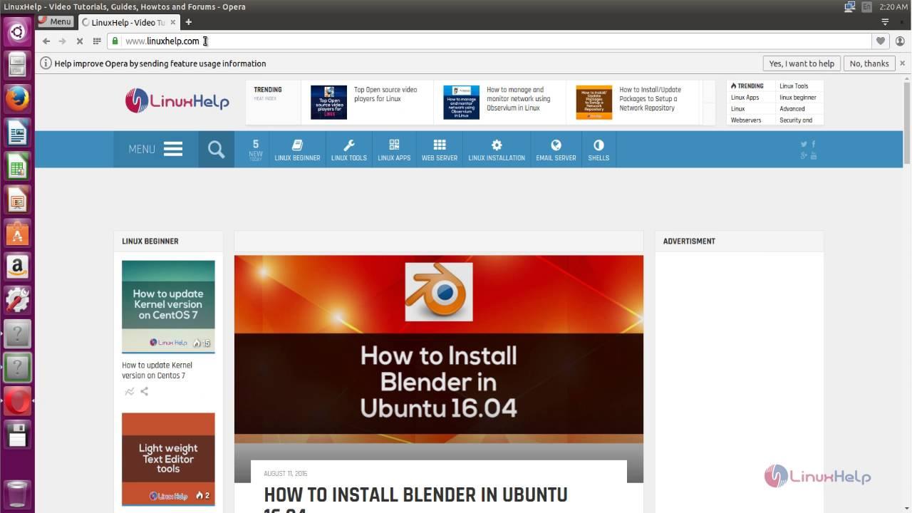 How to Install Opera Browser on Ubuntu