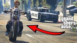 """MOTOCYKLISTA vs 3 POLICJANTÓW! GTA 5 Online Hogaty i EKIPA """"ZABAWA NA CAŁEGO!"""" #261"""