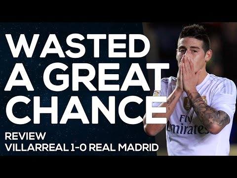 Villarreal 1-0 Real Madrid | A Real waste | MATCH REVIEW