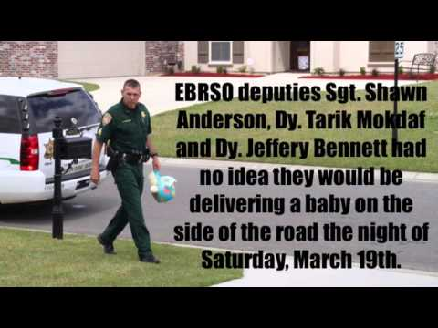 Sgt. Shawn T. Anderson and two deputies helped a mother give birth to her child.