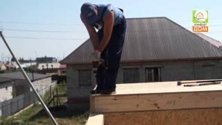 Строительство каркасно-панельного дома(, 2015-06-23T09:53:32.000Z)