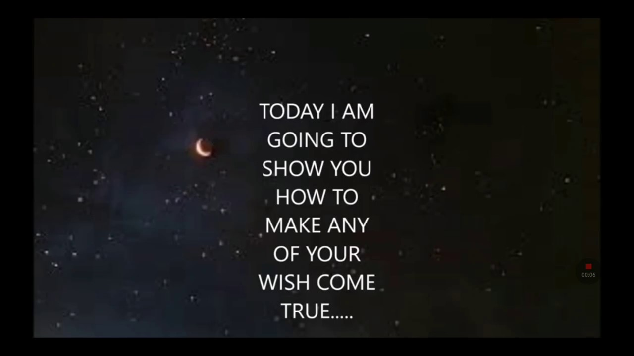 This video will make your wish come true