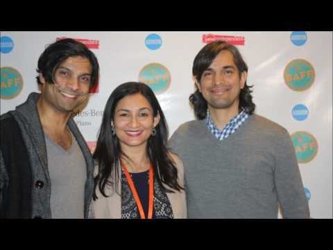 Rupak Ginn  Lead actor of  movie Khoya at SAFF South Asian Film Festival Dallas