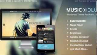 WordPress Music Themes New Entry: Music Club. Explore this Entertainment Style Theme!
