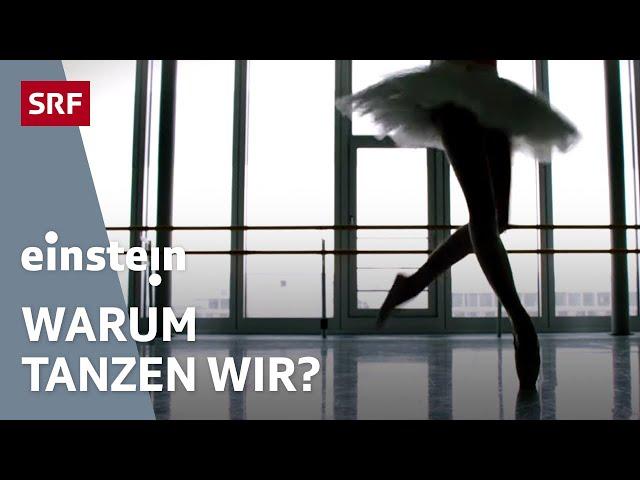 Primaballerina oder Solotänzer vor dem Spiegel – was die Magie des Tanzens ausmacht | SRF Einstein