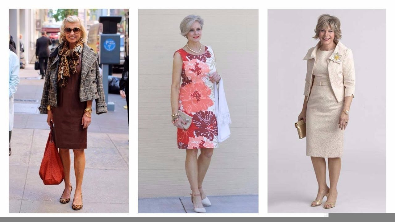 3ec0cf2f0 VESTIDOS PARA SEÑORAS DE 50 AÑOS 2017  Moda  Mujer  Vestidos - YouTube