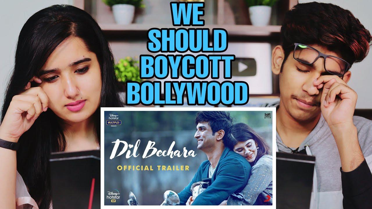 Dil Bechara | Official Trailer | Sushant Singh Rajput | Sanjana Sanghi | Reaction