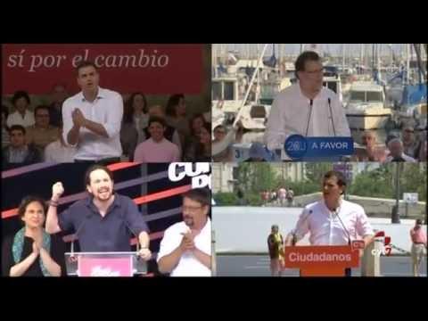 Cuarto día de Campaña 26J. Noticias CyLTV 14.30h (13/06/2016)