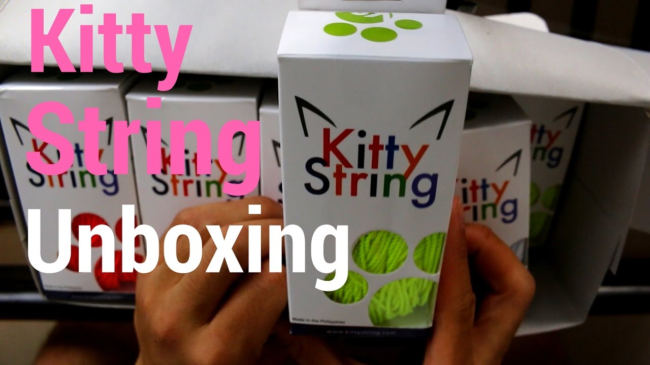 Kitty string unboxing youtube kitty string unboxing malvernweather Image collections