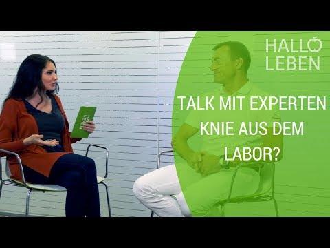 Neues Knie aus dem Labor? Dr. Martin Volz klärt auf